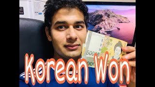 Korean WON ₩ || Money Value || Saurav Tanwar