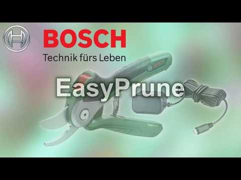 Bosch EasyPrune Produkttest  / product test / тестируемый продукт
