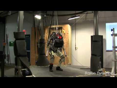 PETMAN: Anthropomorphic Robot; The Next Generation