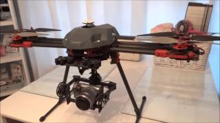 Tarot 680 pro hexacopter build review