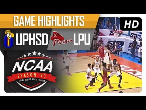 UPHSD vs. LPU | NCAA 93 | MB Game Highlights | September 21, 2017