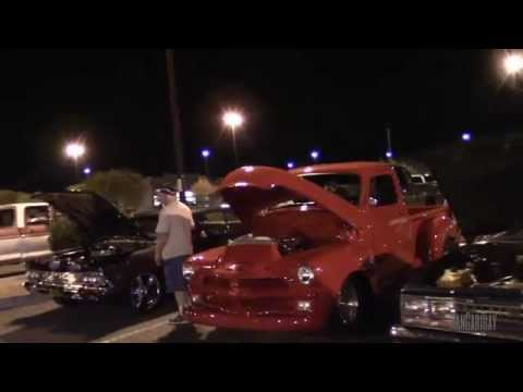 Video Glendale AZ. Cruise Night and Car Show at Bell Rd. & 67th Ave.