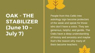 What Is Your Celtic Tree Sign?