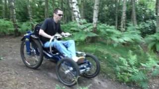 preview picture of video 'Boma Wheelchair - Out on the trail (3)'
