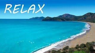 Just Relax: Soothing Music and Relaxing Ocean Sounds - Calming Beach