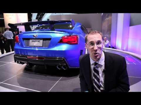 Subaru BRZ STi Concept - 2011 LA Auto Show