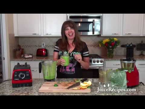 Video My favorite meal replacement green juice recipe