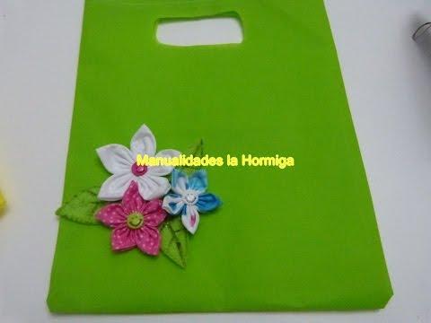 Tutorial bolsas ecologicas material Kambrel, Empaques para Regalos,Hormiga Manual