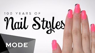 100 Years of Fashion: Nails ★ Mode.com