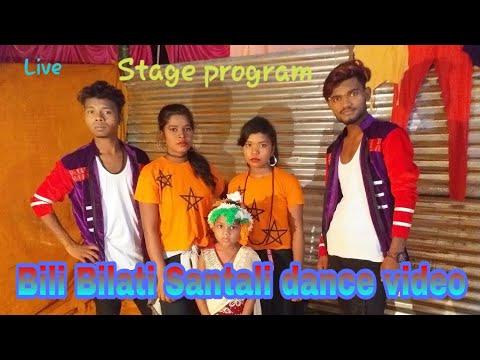 Santali jatra dance video live program dumka (Jama)