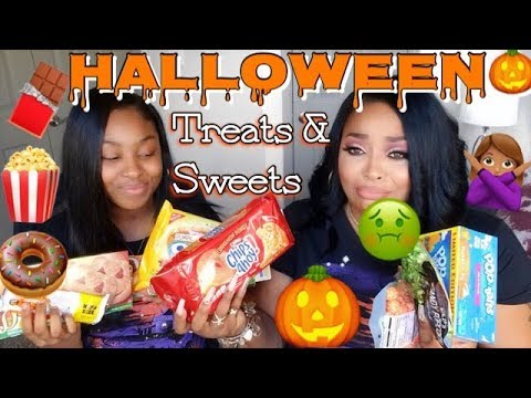 Halloween Sweets & Treats FIRST IMPRESSION TASTE TEST