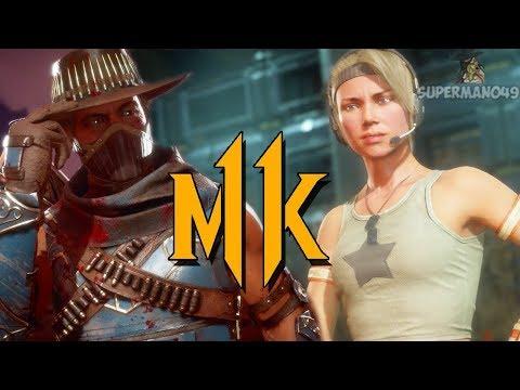 Rank Up To Grand Master Ruined By Scorpion... - Mortal Kombat 11: Sonya & Erron Black Gameplay