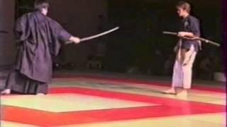 preview picture of video 'Nihon Budo Watanabe ryu: iai-ken jitsu par Watanabe Mitsuru sensei'