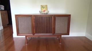 1964 Motorola Record Player Console