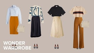 The Casual Office Dress Code: 30 Outfits For Every Occasion. // Capsule Wardrobe For Work Series.