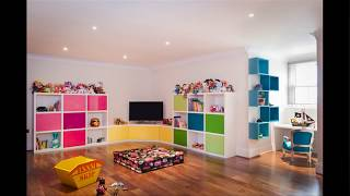 60 Amazing Kids Playrooms Ideas Kids Room Decorating Ideas With Perfect Organization