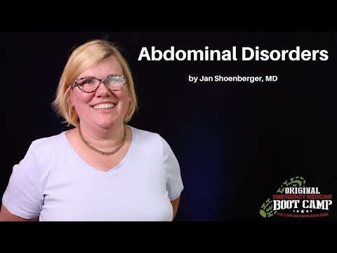 Abdominal Disorders | The EM Boot Camp Course