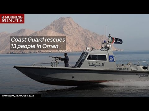 Coast Guard rescues 13 people in Oman
