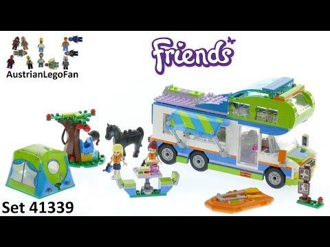 Vidéo LEGO Friends 41339 : Le camping-car de Mia