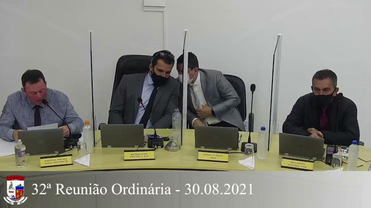 32ª Reunião Ordinária 30/08/2021