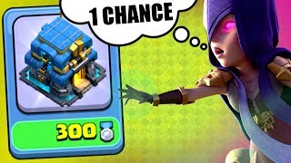 1 CHANCE TO 3 STAR! - NEW OBSTACLE IN CLASH OF CLANS!?