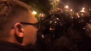 Киев в ночь с 17 на 18.10.2017. Майдан Митинг