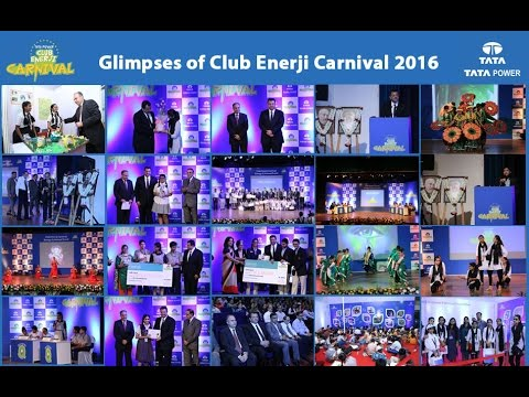Glimpses of Tata Power Club Enerji Carnival 2016