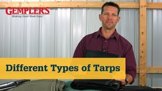 Canvas Tarps to Heavy Duty Tarps The Best Tarp for What You Need Covered | Tarp Tips from Gempler's