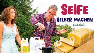 Experiment -  Seife selber machen - DIY Kamillenseife mit Prignitzhof