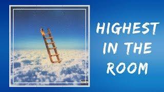 Travis Scott - HIGHEST IN THE ROOM (Lyrics)
