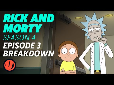 "Rick and Morty Season 4 Episode 3 ""One Crew Over The Crewcoo's Morty"" Breakdown"