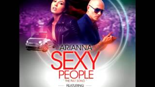 Arianna feat Pitbull - Sexy People The Fiat Song)(Audio)