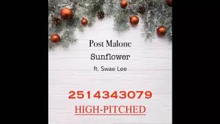 post malone sunflower song code for roblox - 免费在线视频最佳电影
