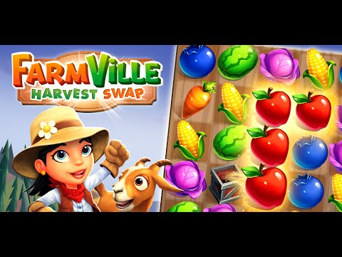FarmVille: Harvest Swap Gameplay Trailer
