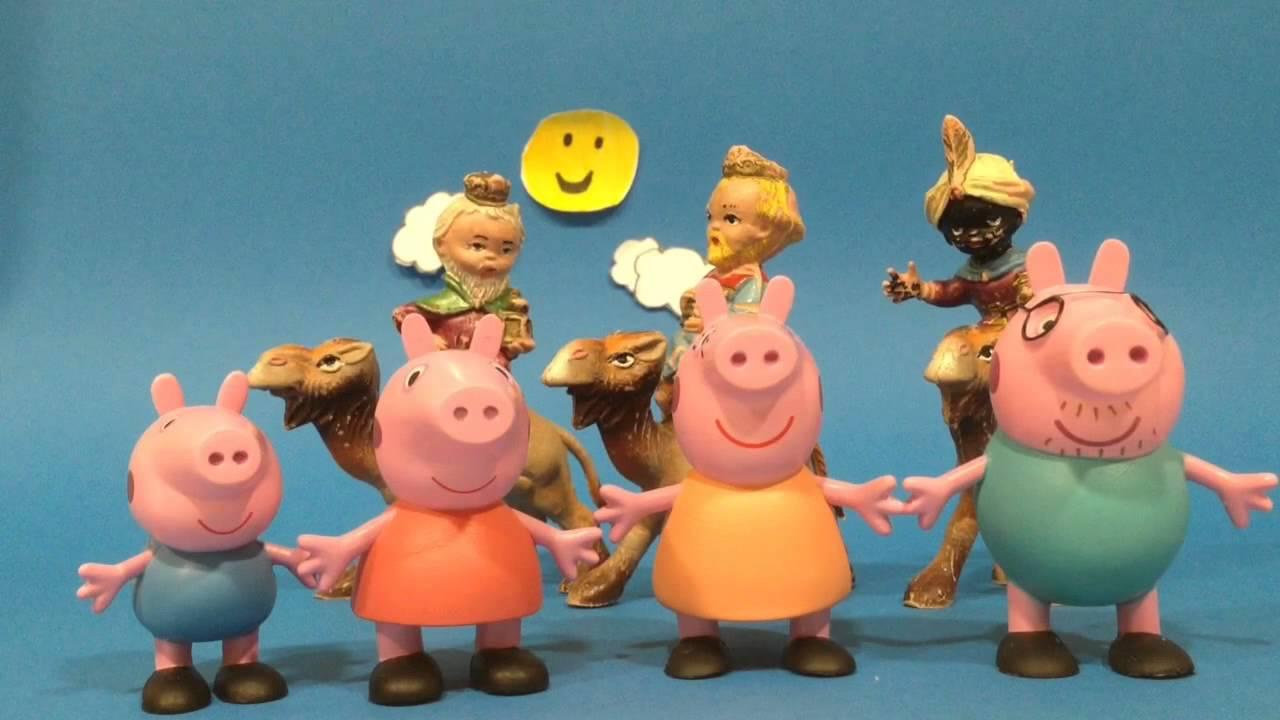 Peppa Pig y su familia cantan a los Reyes Magos