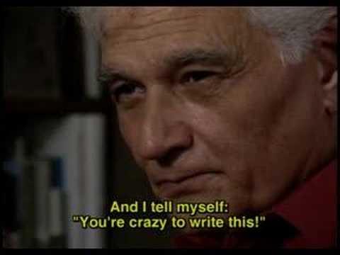 Vidéo de Jacques Derrida