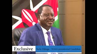 Exclusive: Raila Odinga on NASA's pay bill number headache