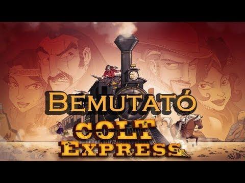 Colt Express - társasjáték bemutató - Jatszma.ro