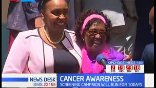 Nyeri Deputy Governor Karugu does her 1st Mammogram at 40