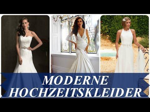 Moderne hochzeitskleider
