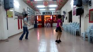 Girls next door - line dance by Winson Eng (dancers - Winson&Belle)