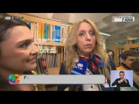 Reportagem da 'RTP 1' na Escola Básica 2/3 António Feijó