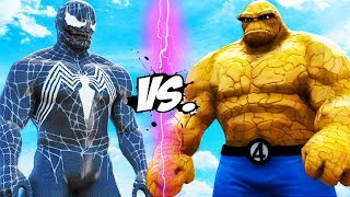 THING vs VENOM - Epic Battle