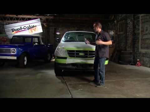 How to fix sun damage on a grill & bumper with Dupli-Color Bumper Coating - Daily Driver Series
