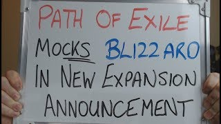 Path of Exile Mocks Activision/Blizzard in NEW EXPANSION Announcement !!