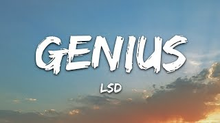 LSD   Genius (Lyrics) Ft. Sia, Diplo, Labrinth