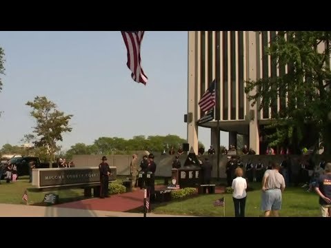 Macomb County honors first responders killed in the line of duty