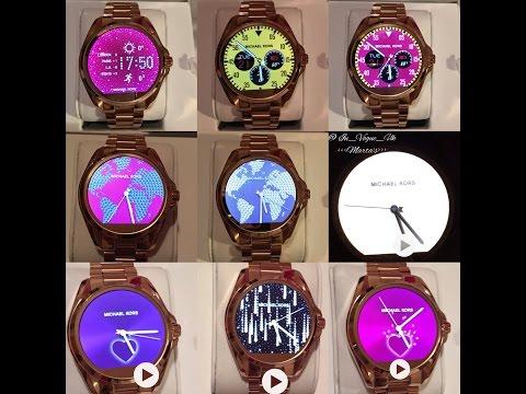 ♡ New Michael Kors Access Bradshaw smartwatch in Rose Gold touch screen     Marta In Vogue UK 0d9b48a53a