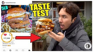 Eating Instagram Famous Food Trends (Taste Test) *Part 4*