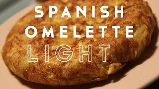 LOW FAT SPANISH OMELETTE | TORTILLA DE PATATA BY SPANISH COOKING